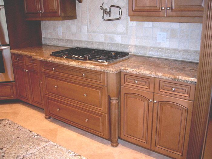 Stove Top Kitchen Cabinets : Cabinet construction design restoration services